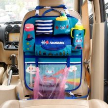 Cartoon Car Seat Back Storage Hang Bag Organizer Car-styling Baby Product Varia Stowing Tidying Automobile Interior Accessories