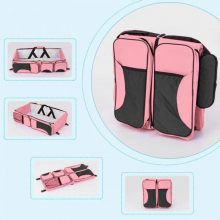 Portable Folding Baby Crib Travel Bed Multifunction Large Capacity Mother Shoulder Bag YH-17