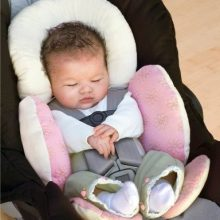 Baby stroller cushion car seat accessories Carriage thermal pad liner children shoulder belt strap cover Neck Protection pad